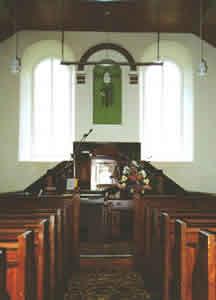 Capel Bwlchyrhiw-interior