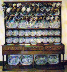 Cil-y-cwm Dresser as seen at Abergwili museum