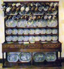 Cil-y-cwm Dresser as seen at Abergwili museum